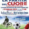 """""""Buon compleanno Massimo"""" Il 19 febbraio la Squadra ItalianAttori in campo per la Partita del Cuore"""