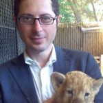 Francesco Emilio Borrelli - con leoncino