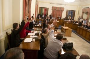 Votazione con unanimità
