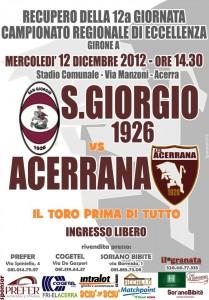 Acerrana - San Giorgio