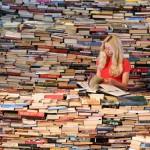 Sala lettura libri
