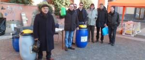 San Giorgio - Raccolta olii esausti, in 4 ore 100 litri recuperati