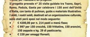 In città manifesti di Zeppole e Panzarotti da MIMMO: 15.000 euro...