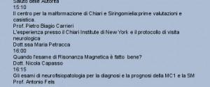 LA PRESENTAZIONE DEL CENTRO 'CHIARI-SIRINGOMIELIA' DI NAPOLI