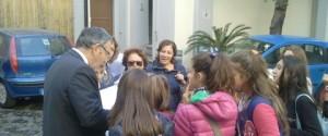 Gli alunni della Guido Dorso alla scoperta di villa Bruno