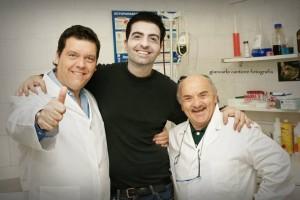 Da sinistra: Gaetano De Martino, Gianni Marino, Salvatore Misticone