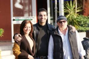 Da sinistr: Mariarosaria Virgili, Gianni Marino, Gaetano Amato