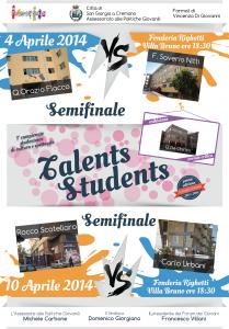semifinali critica talents students