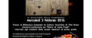 La città di San Giorgio a Cremano ha organizzato un convegno-spettacolo sulla Shoah, il giorno Merco...