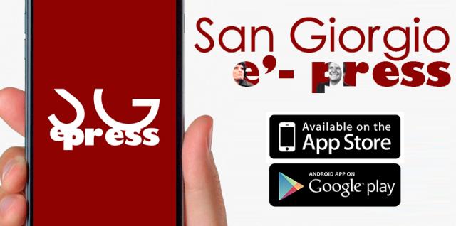 San Giorgio e'-press app iOS e Android: la prima app senza olio di palma!