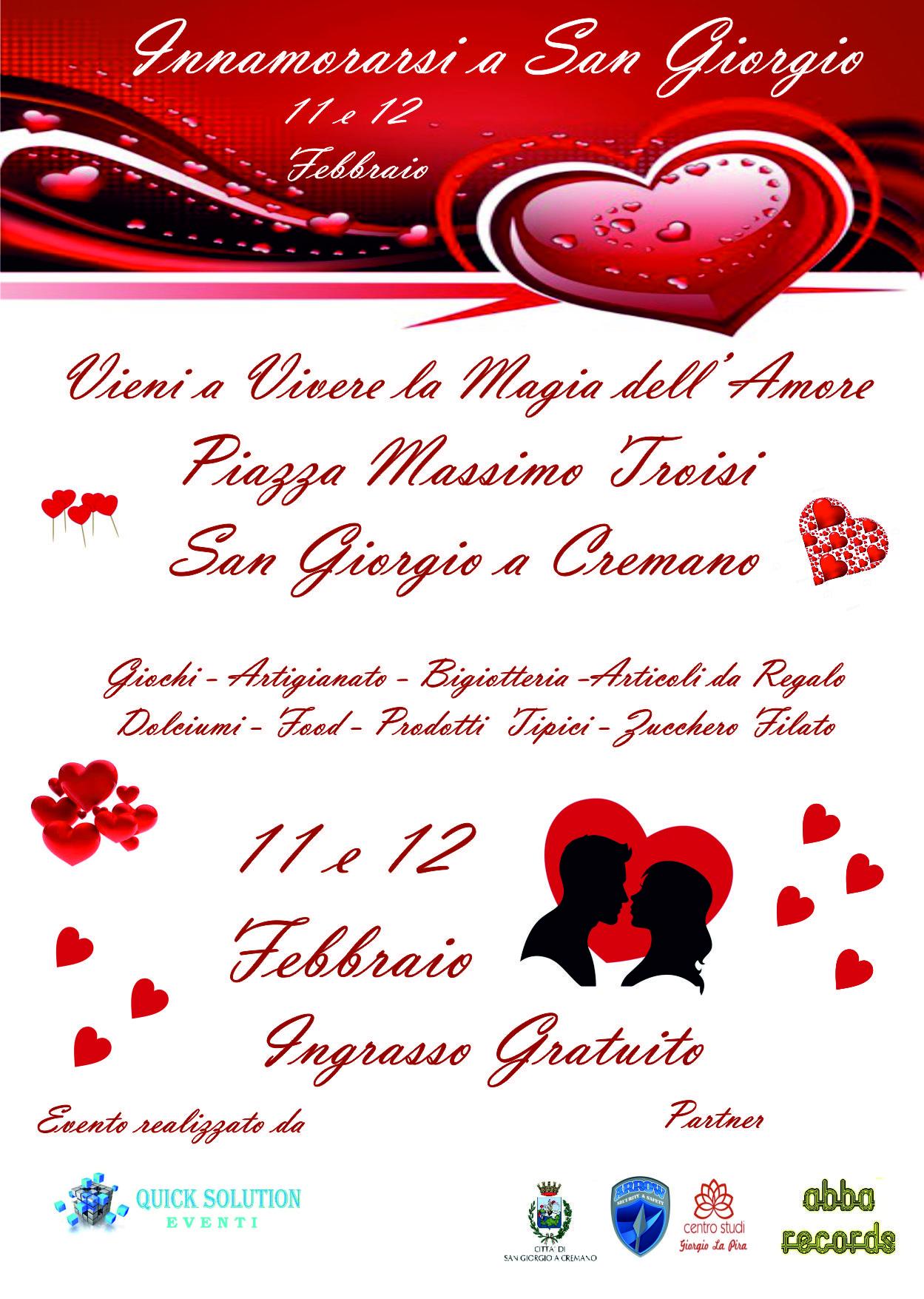 Quick Solution annuncia l'evento Innamorarsi a San Giorgio a Cremano
