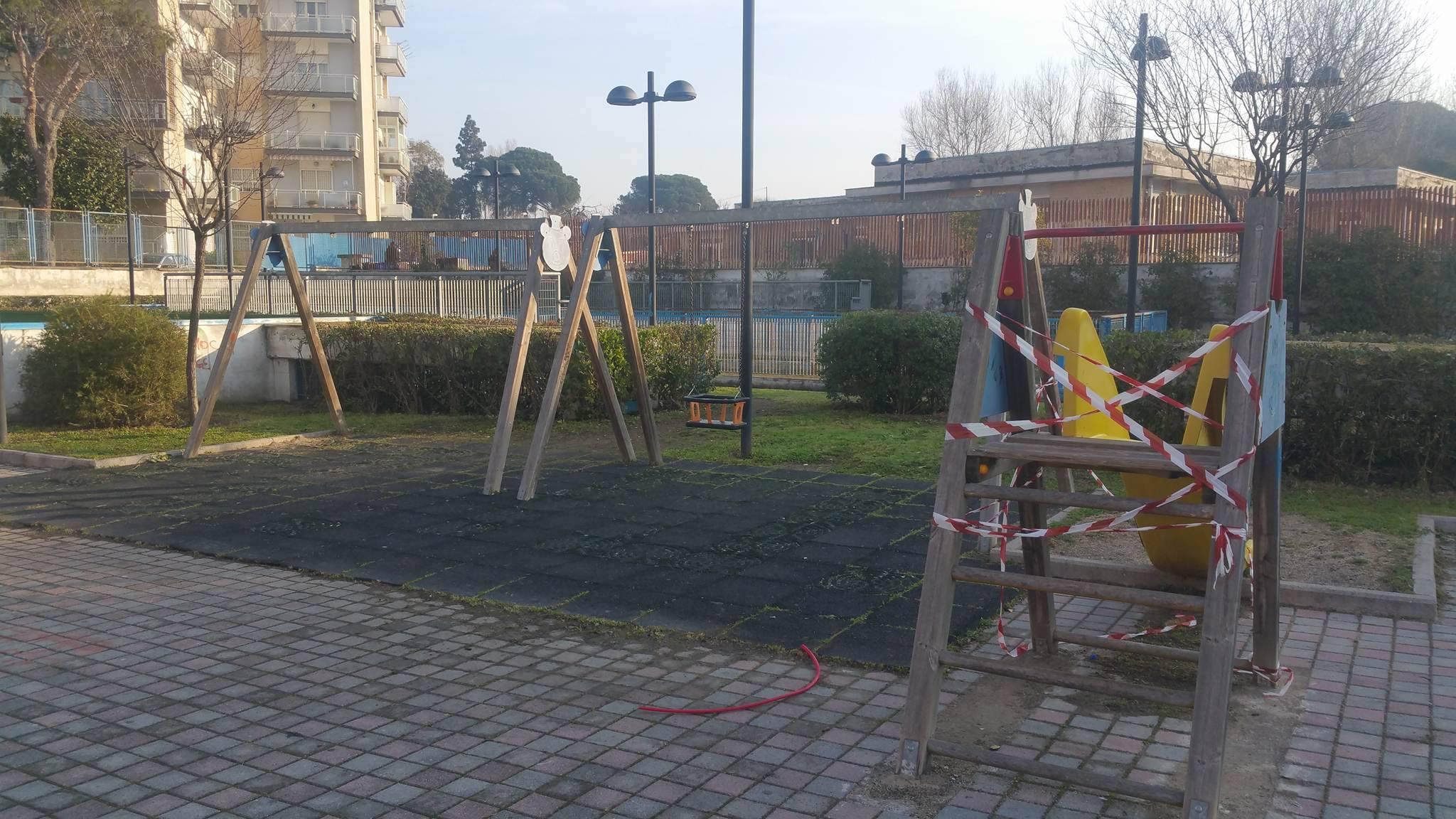 Parco in Viale Formisano, Aldo: